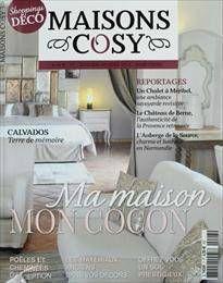 maisons cosy un magazine bourr de charme le grenier d 39 alice. Black Bedroom Furniture Sets. Home Design Ideas