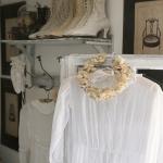 Robe de baptême chambre romantique et shabby chic
