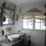 Salle de bains décoration de charme shabby le grenier dalice
