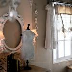 Salon ambiance shabby chic et romantique