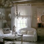 Salon romantique salon shabby chic ambiance cosy