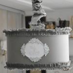 Suspension-abat-jour-lampshade-serviette-ancienne-monogramme-ornement-patine-blanche-volant-ruffle-shabby-chic-decoration-de-charme-le-grenier-d-alice-diametre-35-tissu-gris-souris-new