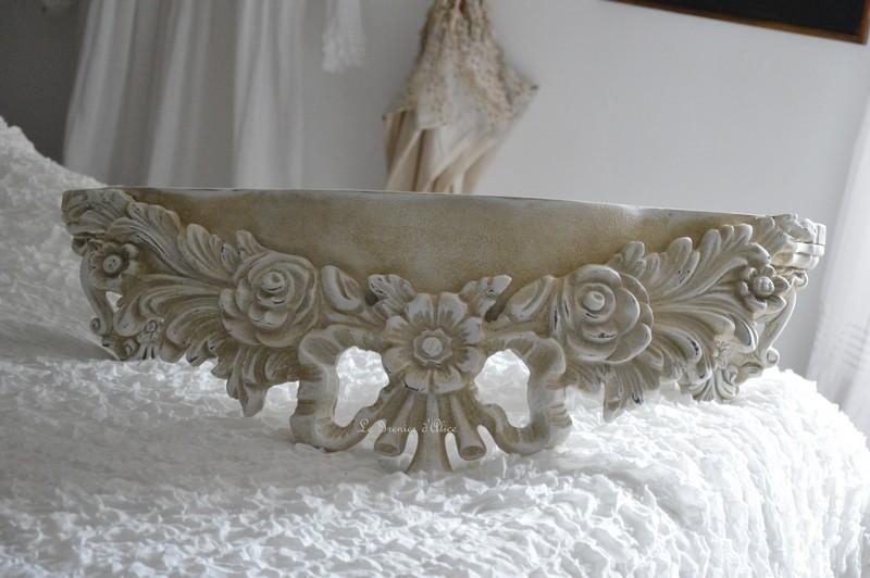Etagère sur mesure etagère shabby chic et romantique etagère patiné lin creation le grenier d'alice 3