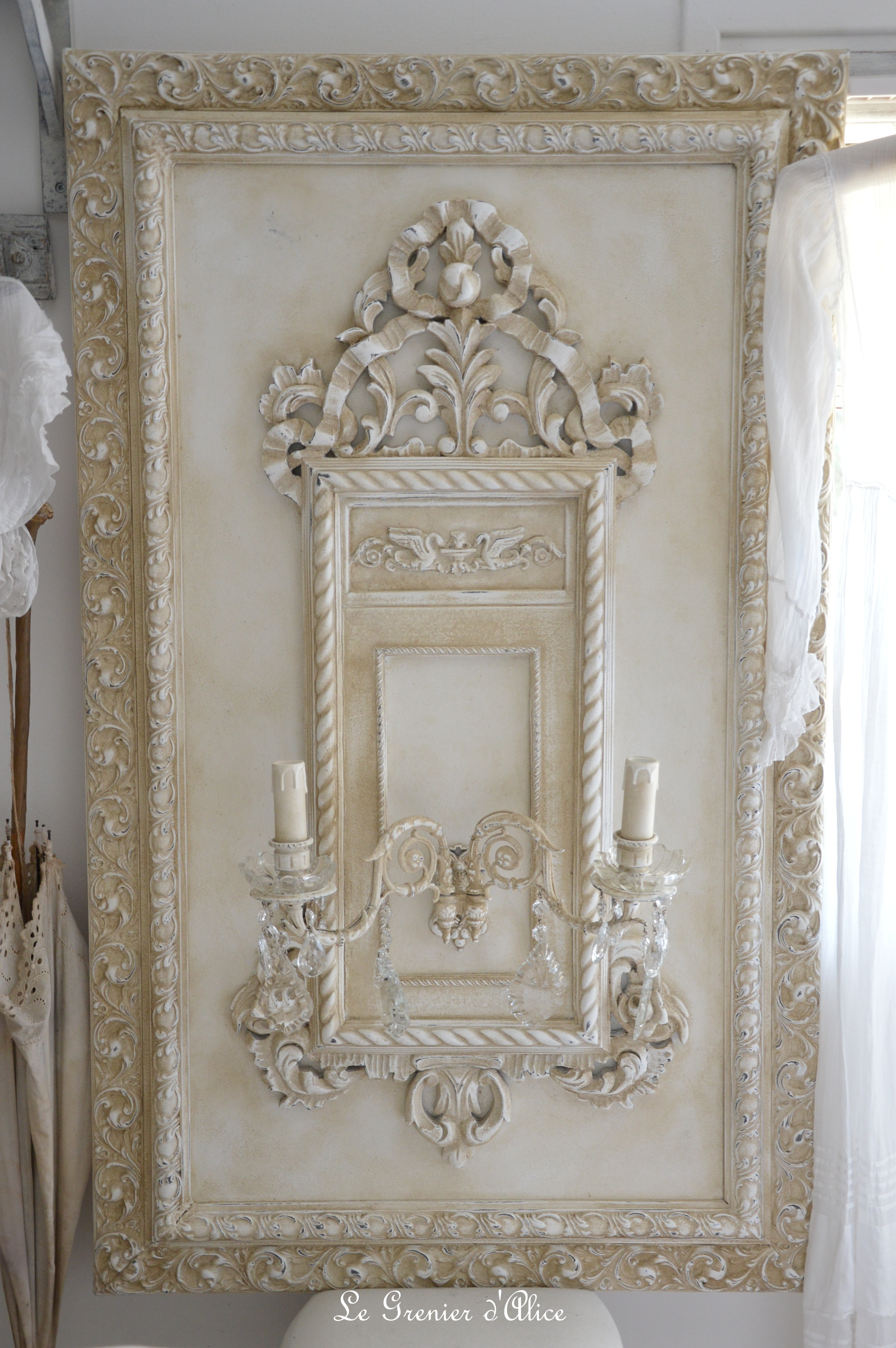Le grenier d 39 alice for Deco murale shabby chic