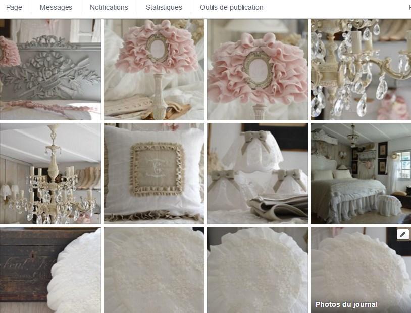 Galerie photo page facebook le grenier dalice objet romantique et shabby chic