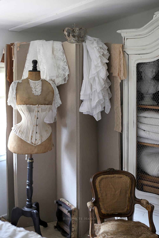 Buste ancien dentelle chambre ambiance douce romantique et - Deco chambre romantique chic ...