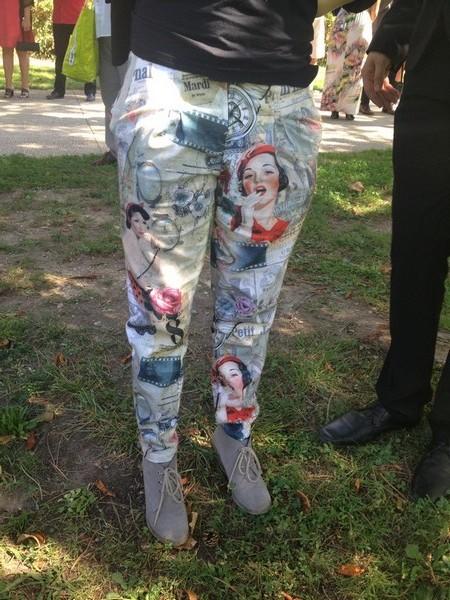 Pantalon gilbert imprimé pinup année 50 rock and roll patron couture 1