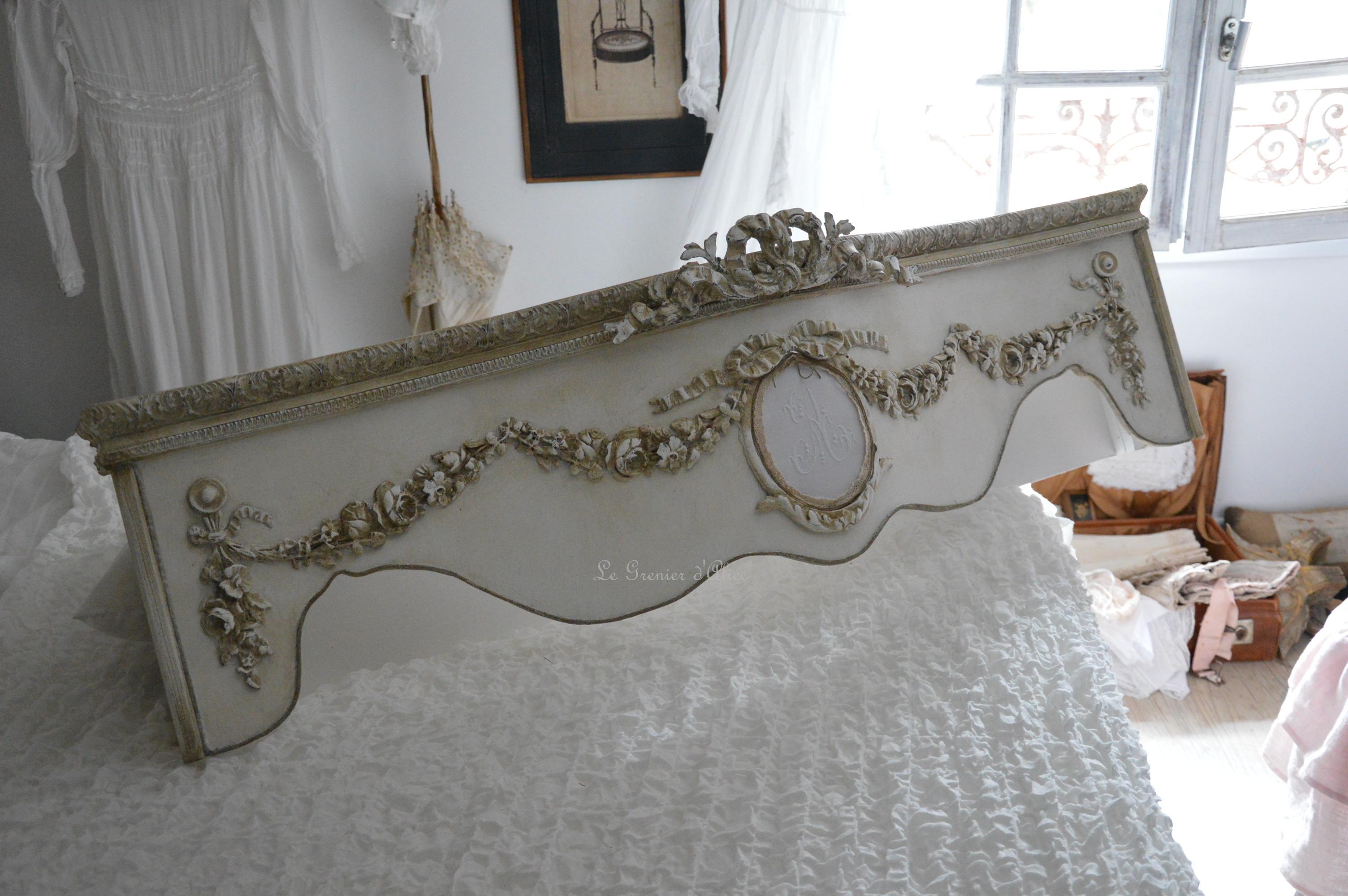 Chambre Style Shabby Romantique ciel de lit romantique shabby chic | le grenier d'alice