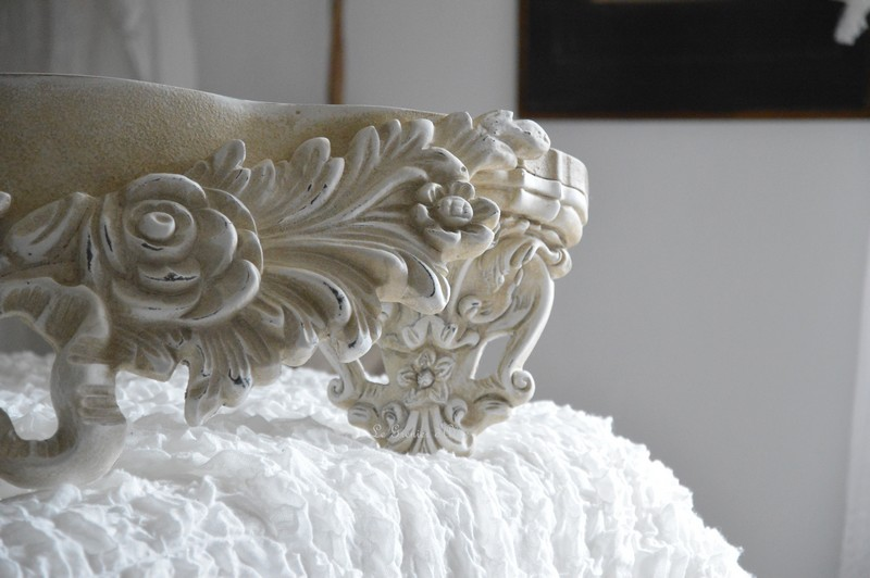 Etagère sur mesure etagère shabby chic et romantique etagère patiné lin creation le grenier d'alice 2