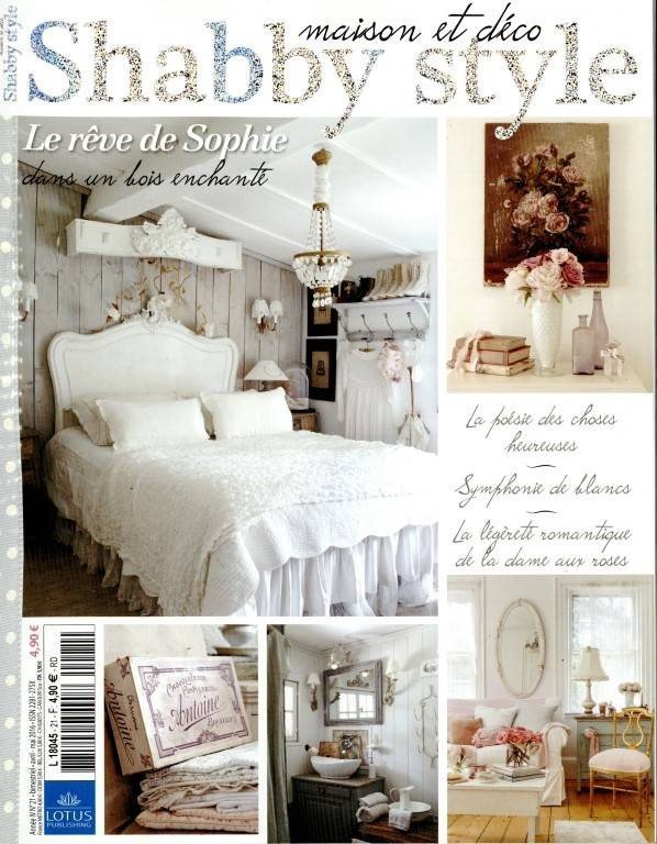 Magazine maison et déco Shabby Style avril mai 2016 Le rêve de Sophie Le Grenier d'Alice romantique et shabby chic