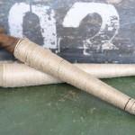 Ficelle de lin sur bobine de bois deco shabby chic nordique scandinave romantique